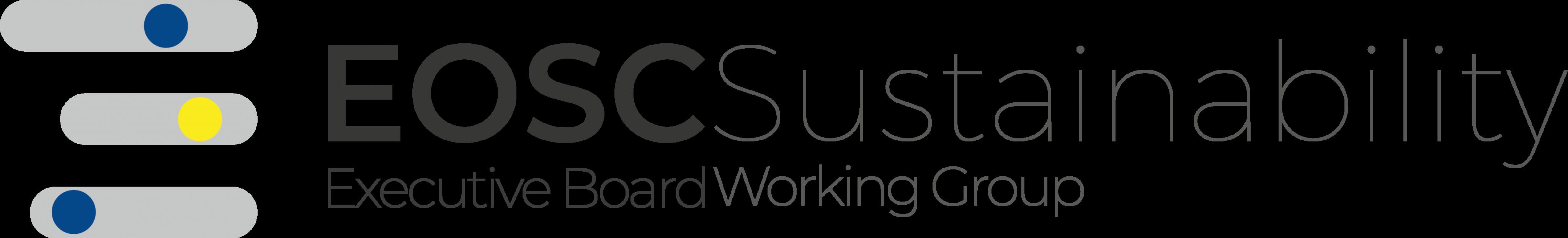 EOSC Sustainability WG Logo.png