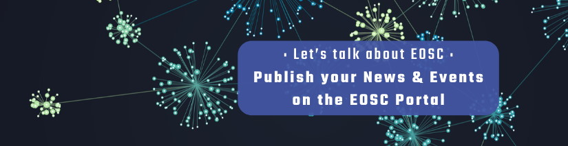 Publish your news and events on the EOSC portal