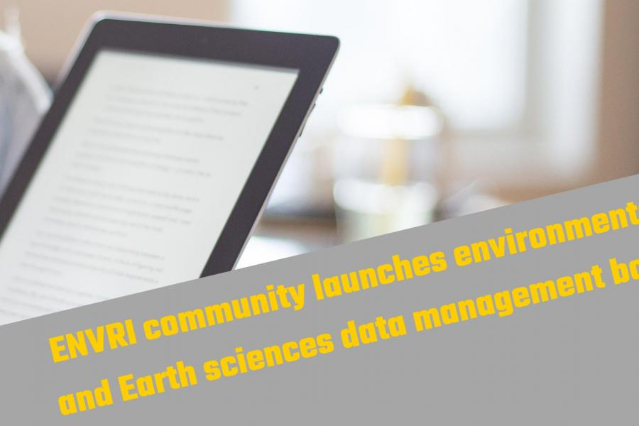 ENVRI community launches environmental and Earth sciences data management book