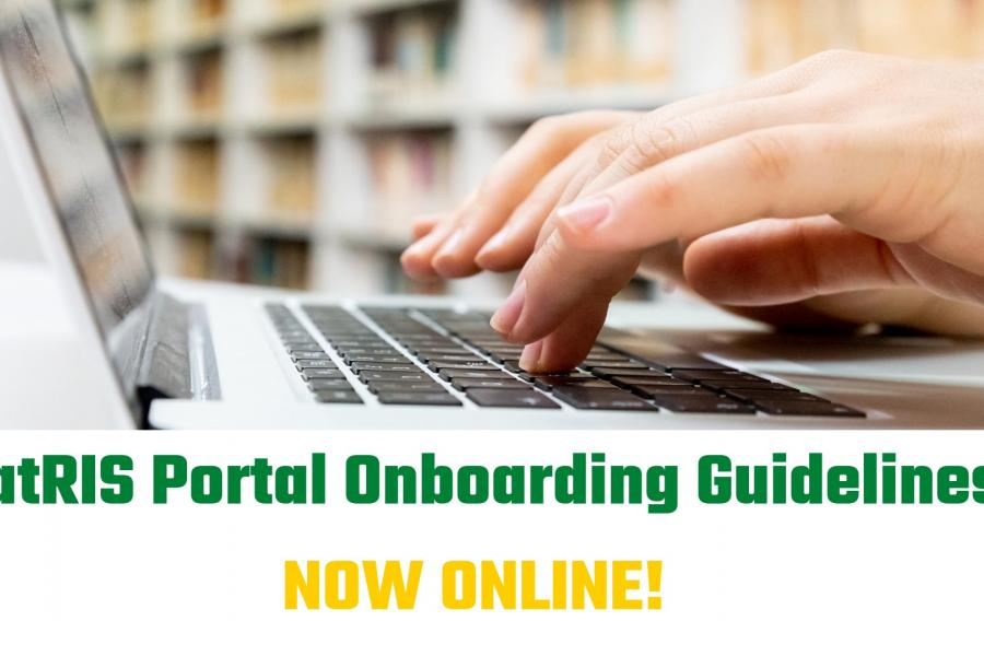 CatRIS Portal Onboarding Guidelines now online!