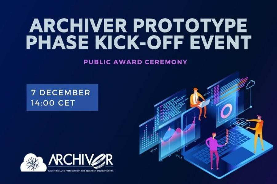 ARCHIVER Prototype Phase Kick-off Event
