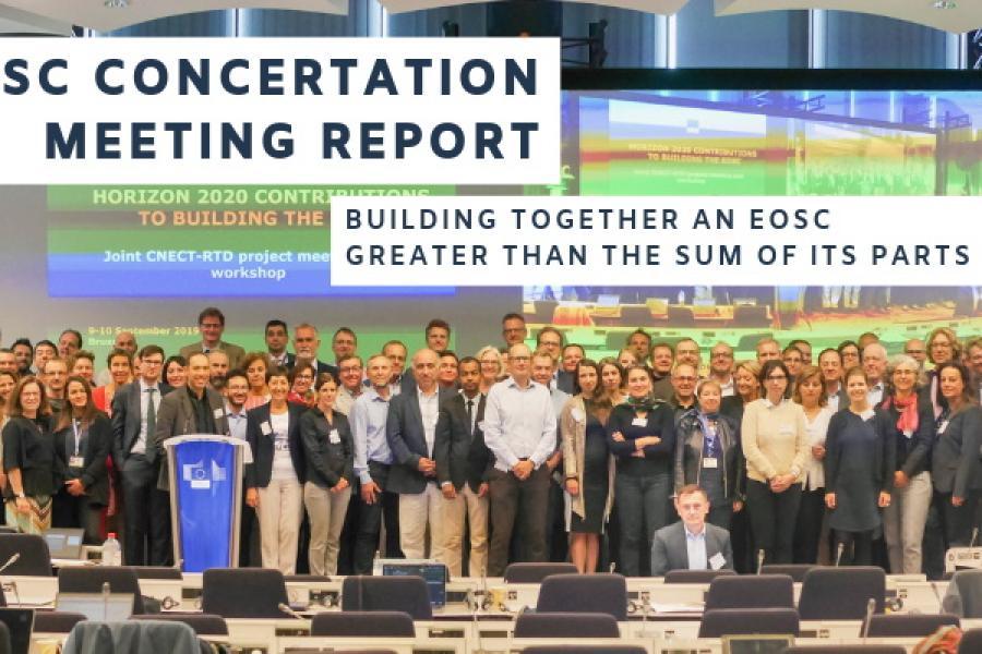 EOSC Concertation Meeting Report