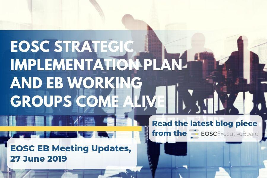 EOSC SIP Working Groups