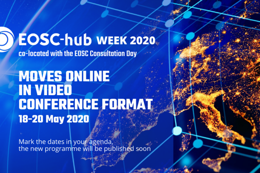 EOSC-hub week & EOSC Consultation day go virtual
