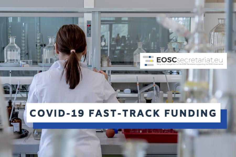 Fast-track co-creation funding for COVID-19 related activities launched by EOSCsecretariat.eu