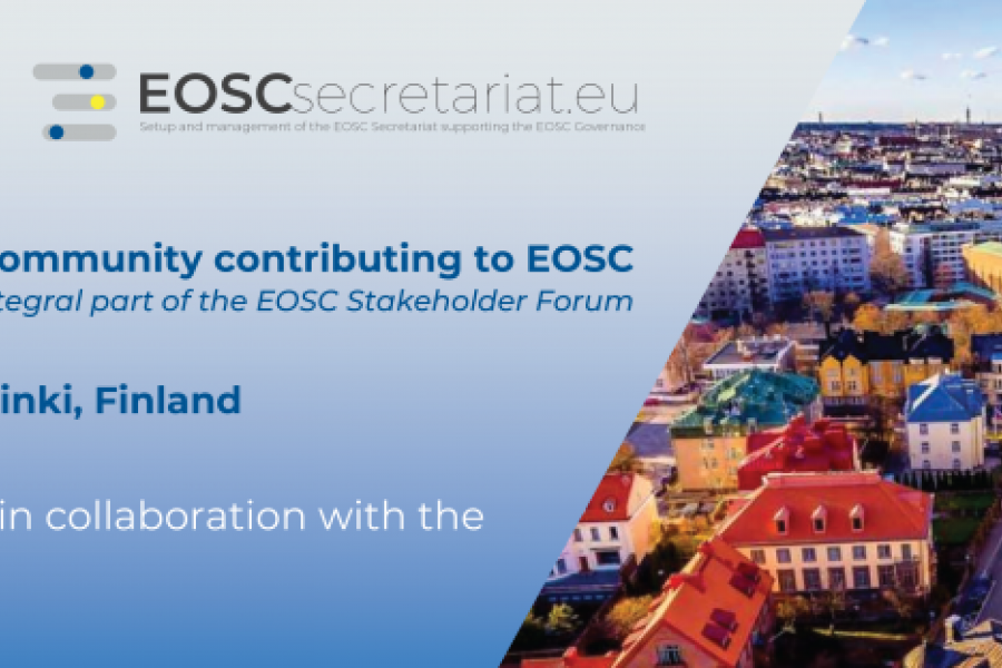 The International Research Data Community Contributing to EOSC