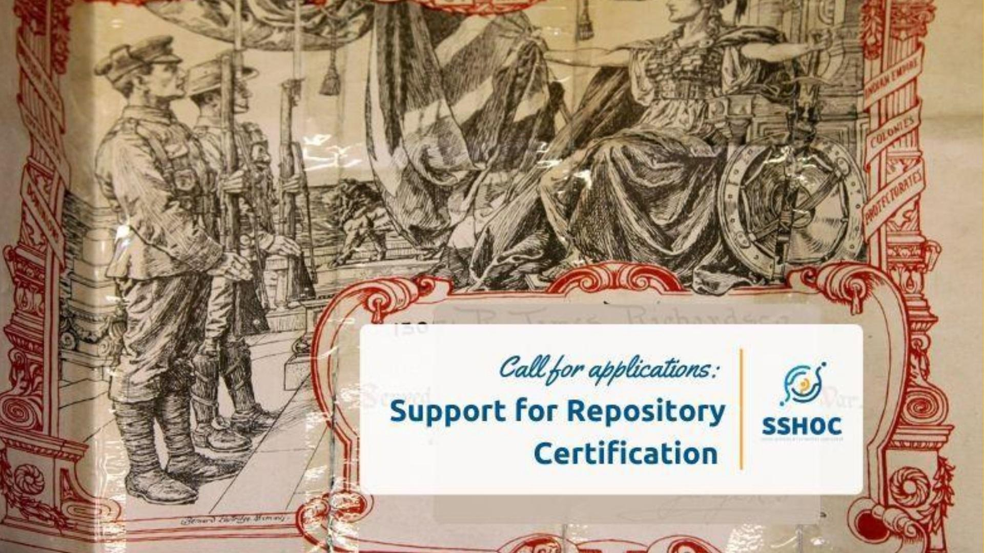 SSHOC Repository Certification Support