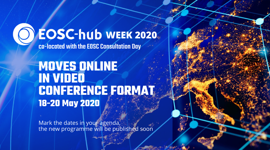 EOSC-Hub Week 2020 goes virtual