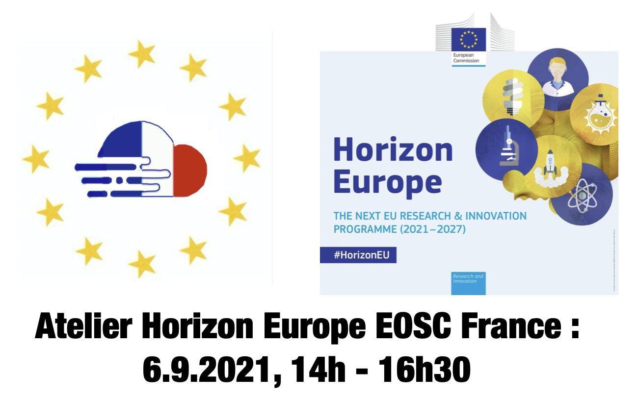 EOSC France Horizon Europe Workshop, September 6, 2021
