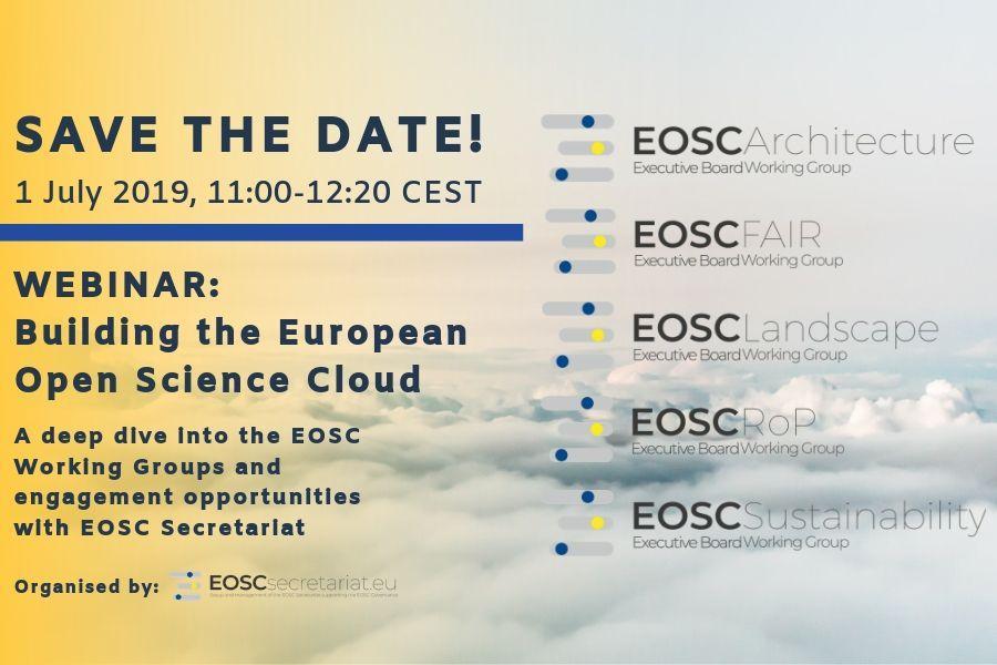 EOSCsecretariat Webinar Portal
