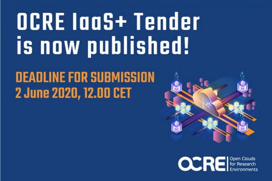 OCRE IaaS+ tender published